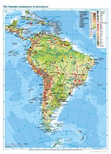 Kép: Dél-Amerika domborzata és bányászata