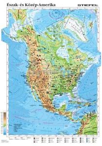 Kép: Észak-Amerika domborzata és bányászata