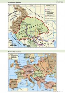 Kép: Európa a XV. Században