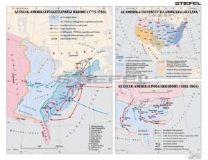 Kép: Az USA függetlenségi harca - kialakulása