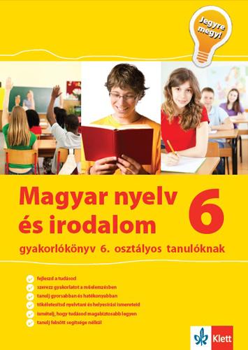Kép: Magyar nyelv és irodalom gyakorlókönyv 6. osztályos tanulóknak – Jegyre megy!